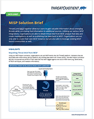 MISP Solution Overview Thumbnail