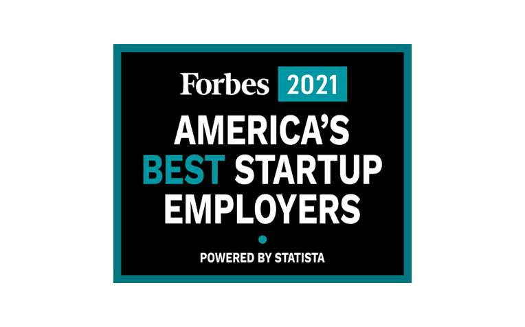 Forbes America's Best Startup Employers